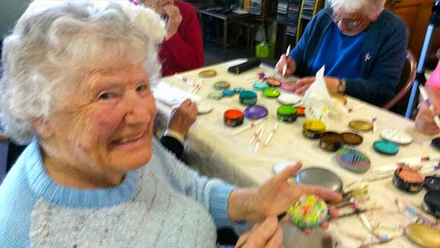 Rock Art at Bupa Highfield Care Home 5 Web
