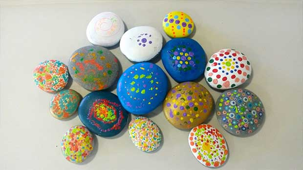 Rock Art at Bupa Highfield Care Home 7