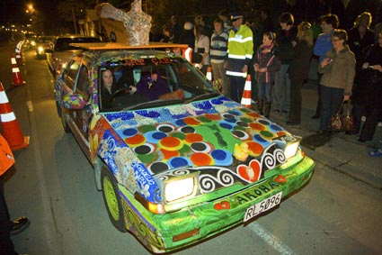 Arty - The Aigantighe's Art Car